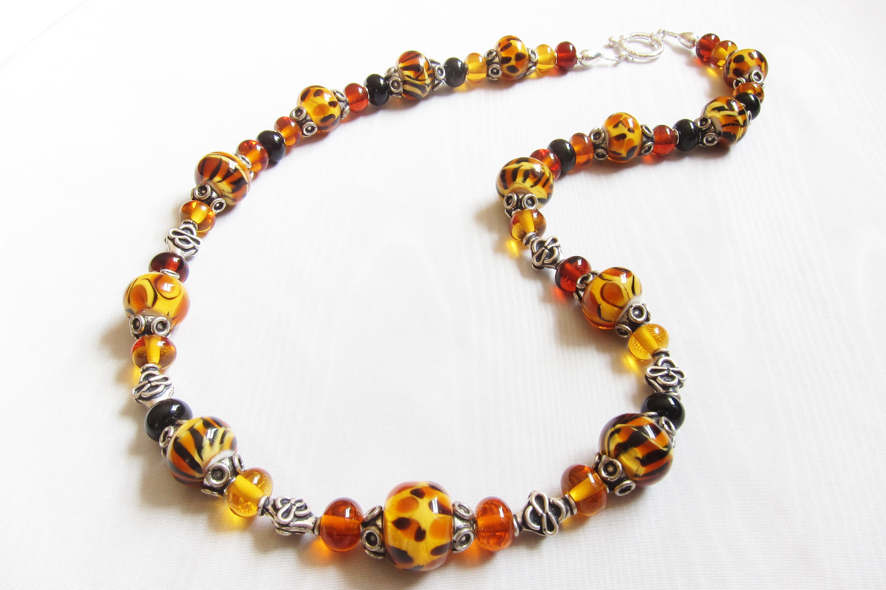 Bad Kitty Queen of the Jungle Bead Necklace
