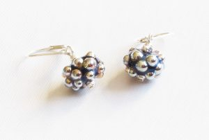 Metallic Dot Earrings