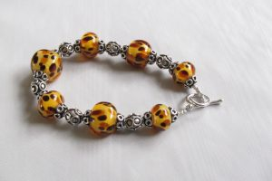 Bad Kitty Cheetah Bracelet