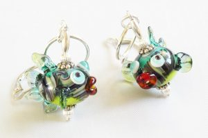 Hippie Fish Earrings