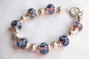 Aura Purple Blues Bracelet